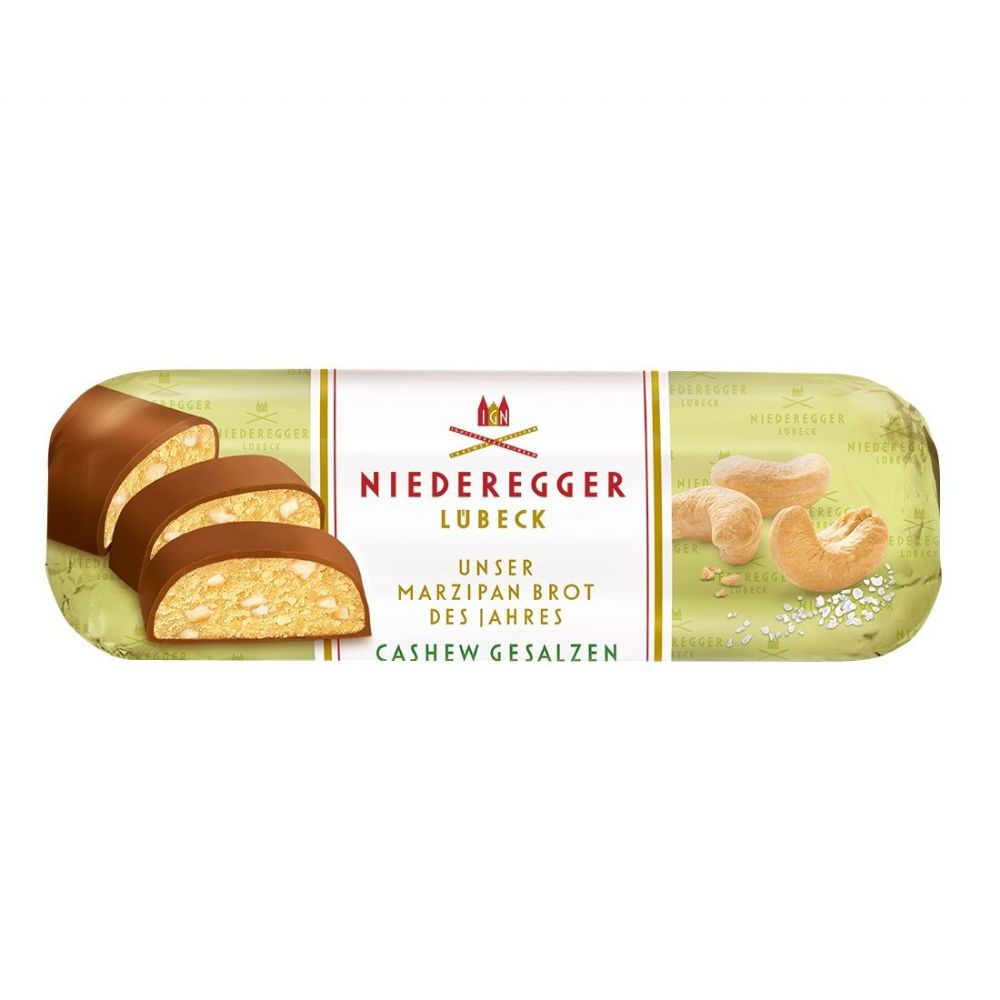 Salted Cashew Caramel Milk Chocolate Marzipan Niederegger